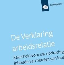 VAR wordt 'Beschikking geen loonheffingen' (BGL)